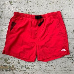 Red The North Face Swim Trunks Men's Large